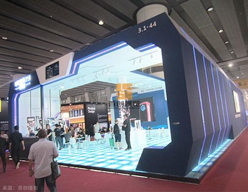 曼亞 展覽(lan)展台設計搭建