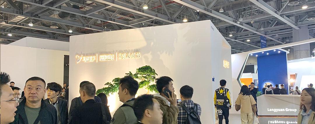 廣州展台設計搭建公司︰簡約設計案例(li)展示