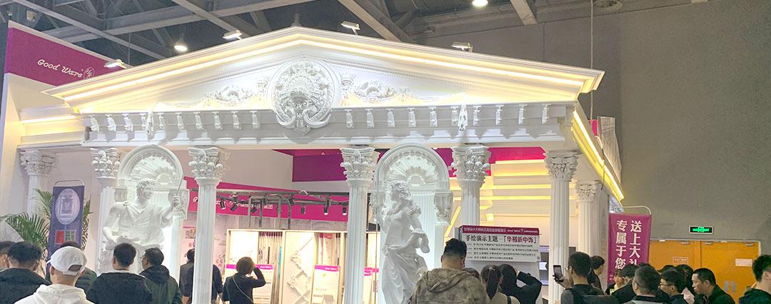 宮殿(dian)式(shi)展台設計風格